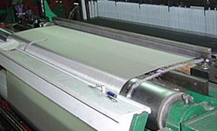 Lưới inox lọc giấy